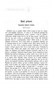 Narodni lekari (vrači) : (Gospić.) / M. Biljan