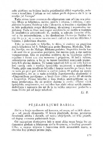 Pejzaži Ljube Babića / Branko Fučić