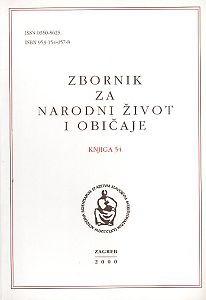 Knj. 54 (2000) : Kijevo : narodni život i tradicijska kultura / Ante Jurić-Arambašić ; urednici Andre Mohorovičić i Mirko Marković