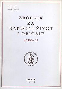 Knj. 53 (1995) / urednici Andre Mohorovičić i Mirko Marković