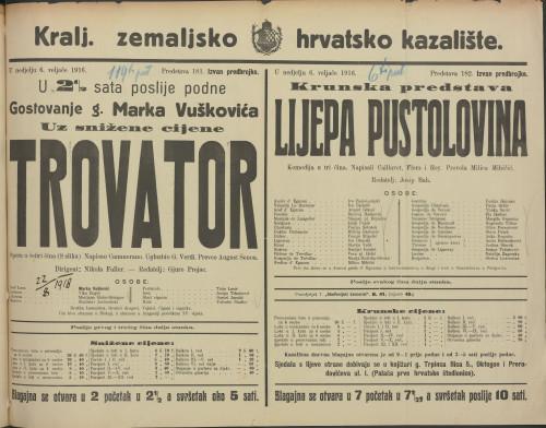Trovator Opera u četiri čina (8 slika)