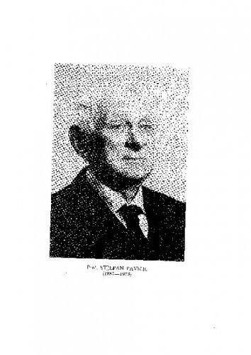 Prof. Stjepan Pavičić (1887-1973) : [nekrolog] / M. Marković