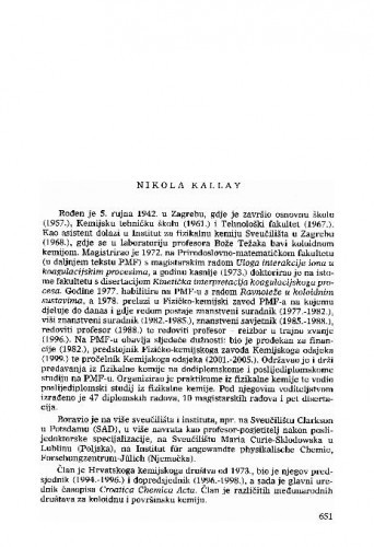Nikola Kallay