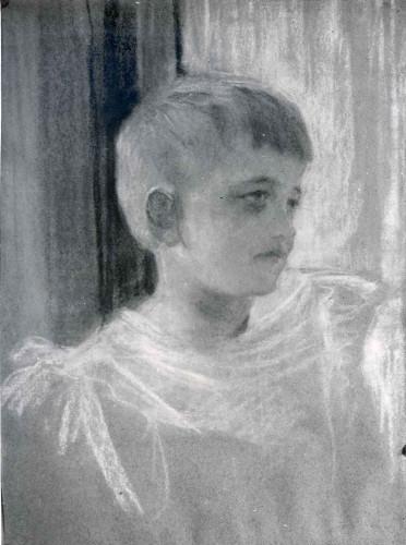 Raškaj, Slava (1877-1906) : Djevojčica