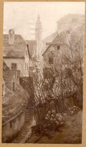Rojc, Nasta (1883-1964) : Stari Zagreb (Potok)