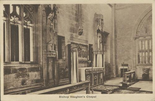 Razglednica Naste Rojc Antunu Ullrichu, St Davids, 24.8.1929.