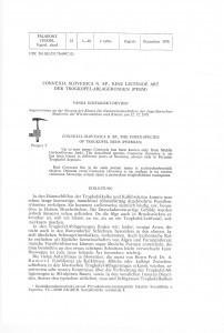 Connexia slovenica n. sp., eine leitende Art der Trogkofel-Ablagerungen (Perm) = Connexia slovenica n. sp., značajna vrsta trogkofelskih naslaga (Perm) / Vanda Kochansky-Devidé