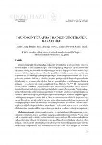 Imuniscintigrafija i radioimunoterapija raka dojke / Damir Dodig, Dražen Huić, Andreja Mutvar, Mirjana Poropat, Stanko Težak