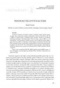 Trostruko negativni rak dojke / Rudolf Tomek