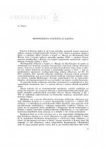 Ikonografija Vincenta iz Kastva / Iva Perčić