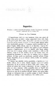 Bugarštice / I. Sherzer
