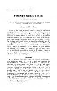 Doseljivanje tuđinaca u Srijem / M. Šenoa