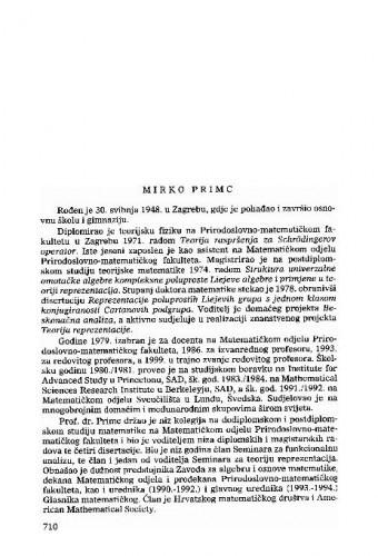 Mirko Primc