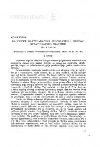 Ladiničke Dasycladaceae Jugoslavije i njihovo stratigrafsko značenje / M. Herak