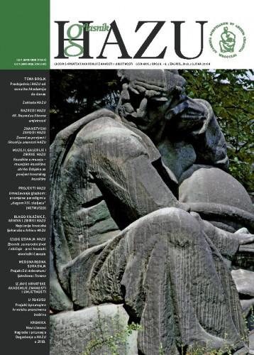 Godina V., broj 8.-9., siječanj-prosinac 2018. / glavni urednik / editor-in-chief Ivan Gušić