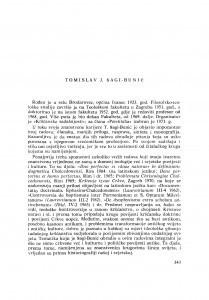 Tomislav J. Šagi-Bunić : [biografije novih članova Akademije]