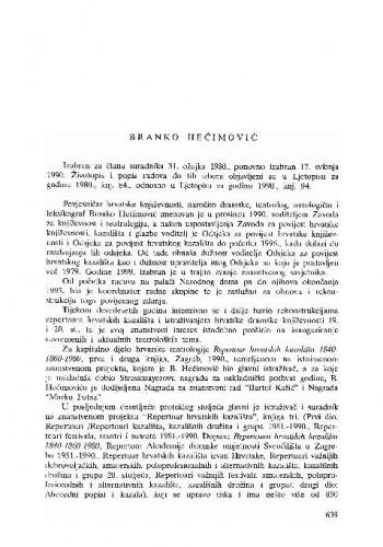 Branko Hećimović