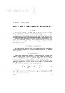 Jedna metoda za točno merenje sila malih intenziteta / T. Anđelić, G. Dimić, D. Prokić