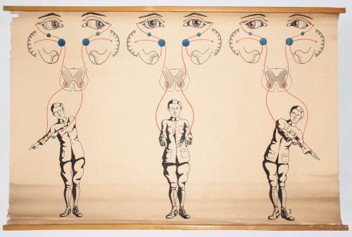 Kretnje očnih jabučica pri raznim položajima tijela