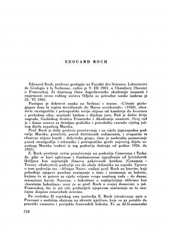 Edouard Roch