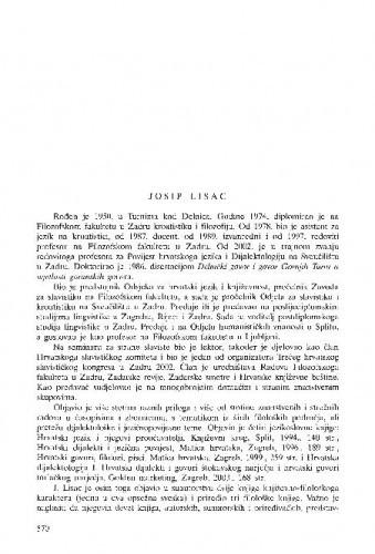 Josip Lisac
