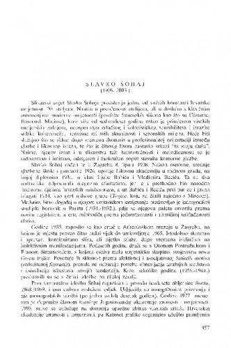Slavko Šohaj (1908.-2003.) : [in memoriam] / Tonko Maroević