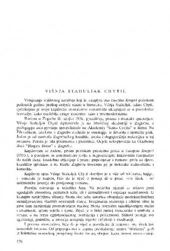 Višnja Stahuljak Chytil