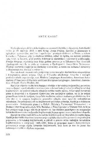 Ante Kadić