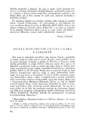 Zbirka Holderovih crteža i slika u Sarajevu / Smail Tihić
