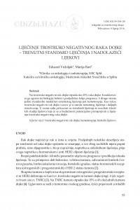 Liječenje trostruko negativnog raka dojke - trenutni standard liječenja i nadolazeći lijekovi / Eduard Vrdoljak, Marija Ban