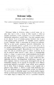 Bichromat kalija : (Revizija osnih elemenata.) / G. Bončev