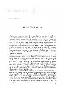 Pelasto-Slavica / M. Budimir