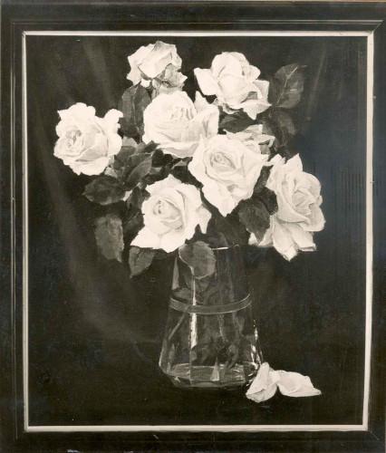 Rojc, Nasta(1883-1964): Moje ruže (Ophelia - portrait ruže) ]