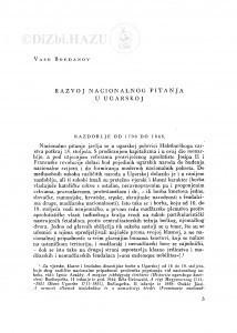 Razvoj nacionalnog pitanja u Ugarskoj / V. Bogdanov