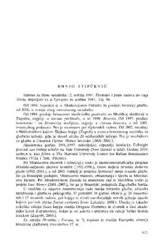 Ennio Stipčević