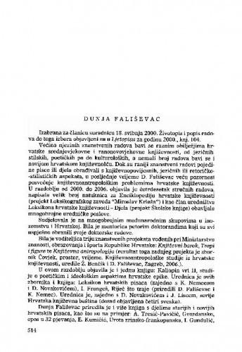Dunja Fališevac