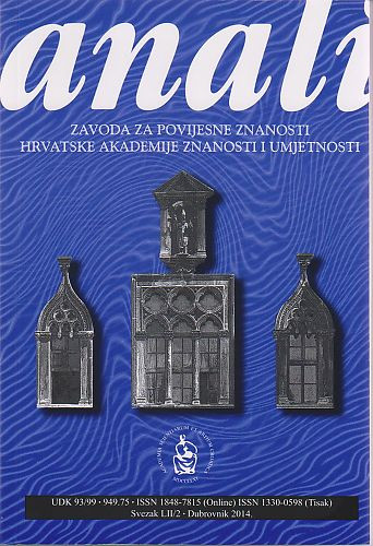 Anali Zavoda za povijesne znanosti Hrvatske akademije znanosti i umjetnosti u Dubrovniku