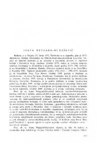 Ivana Weygand-Đurašević