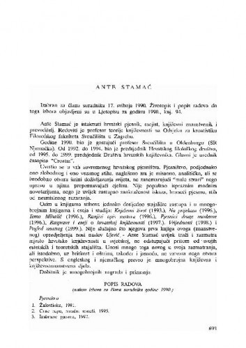 Ante Stamać