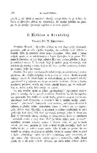 Hlebine u Hrvatskoj : ženidbeni običaji / M. Medjumurac