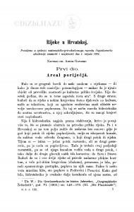 Rijeke u Hrvatskoj / A. Gavazzi