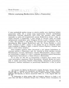 Otkriće značajnog Benkovićeva djela u Francuskoj / Kruno Prijatelj