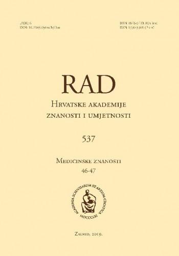 Vol 537 = 46-47(2019)Knjiga 537, svezak 46-47 / editor in chief = glavni i odgovorni urednik Marko Pećina