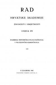 Knj. 123(1942)=knj. 272 [1.]