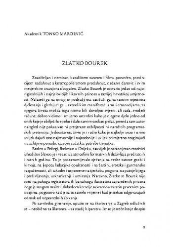 Zlatko Bourek / Tonko Maroević