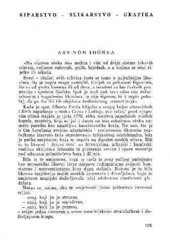 Ars non idonea / Branko Fučić