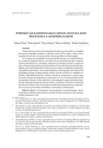 Poremećaji kardiovaskularnog sustava kod bolesnika s akromegalijom / Maja Čikeš, Nina Jakuš, Tina Dušek, Davor Miličić, Darko Kaštelan