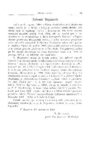 Lubomir Stojanović / T. Maretić