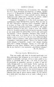 Novija djela Miklošićeva : [književna obznana] / V. Jagić