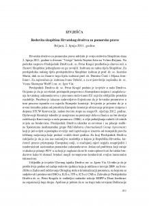 Redovita skupština Hrvatskog društva za pomorsko pravo, Brijuni, 2. lipnja 2011. godine : [izvješće] / Ivana Oršulić